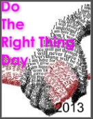Do the Right thing! Bloggers Unite